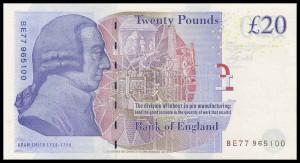 English banknotes