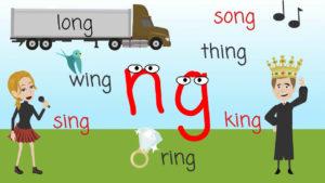 как читается ng по - английски