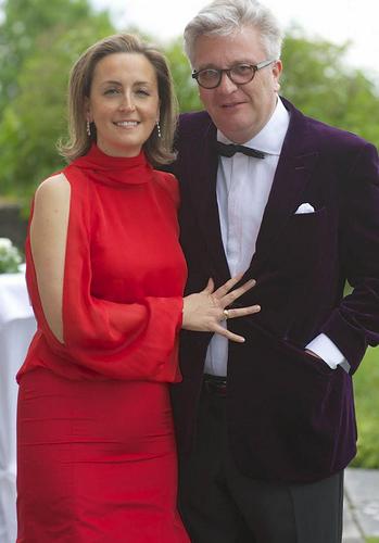 Принц Лоран и принцесса Клэр Новый год