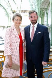 Наследные Великие Герцог и Герцогиня Люксембургские