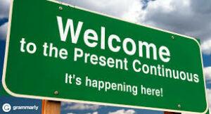 Грамматика Present Continuous
